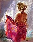 Hazel Soan Private Moments I painting