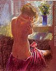 Hazel Soan Private Moments II painting