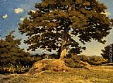 Henri-Joseph Harpignies The Big Tree painting