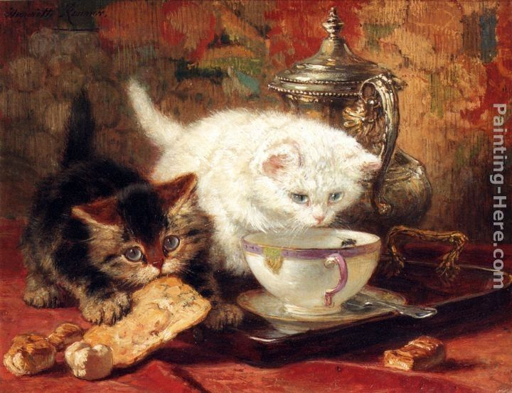 Henriette Ronner-Knip High Tea