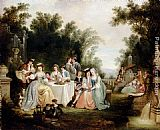 Henry Andrews The Wedding Feast painting