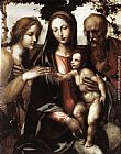 Il Sodoma The Mystic Marriage of St Catherine painting
