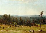 Ivan Shishkin A Lakeside Forest painting