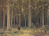 Ivan Shishkin The Forest of Countess Mordvinova painting