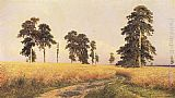 Ivan Shishkin The Rye Field, 1878 painting