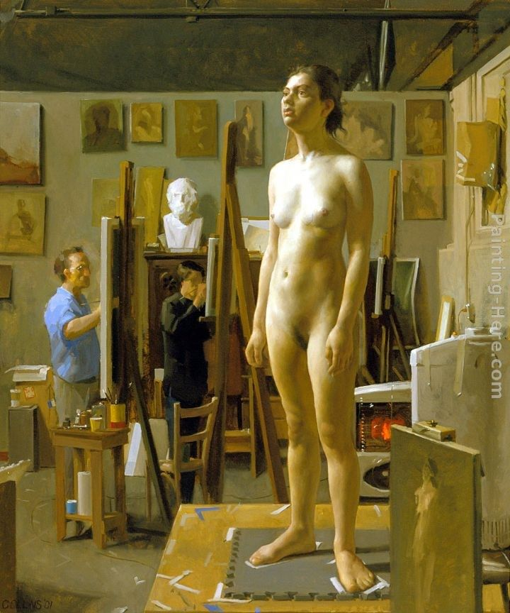 Jacob Collins In the Atelier