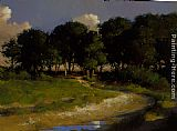 Jacob Collins Nantucket Pines painting