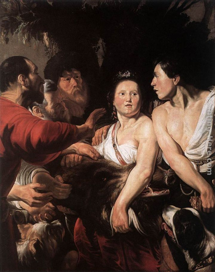 Jacob Jordaens Meleager and Atalanta