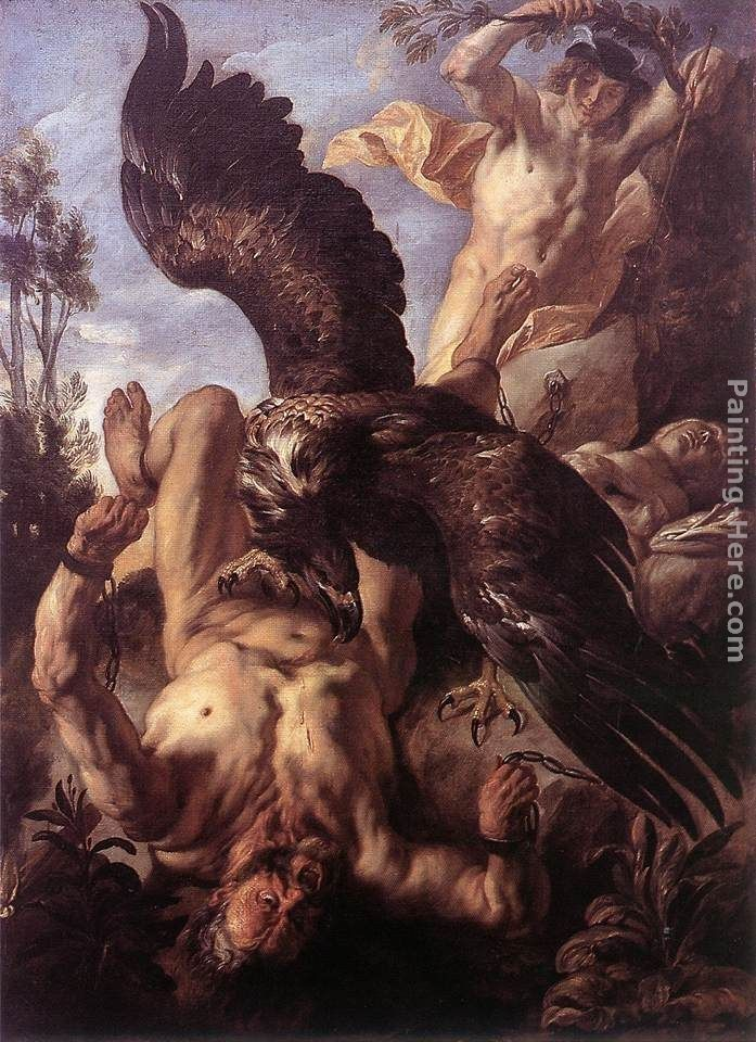 Jacob Jordaens Prometheus Bound