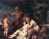 Jacob Jordaens Education of Jupiter painting