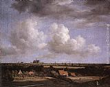 Jacob van Ruisdael Landscape with a View of Haarlem painting