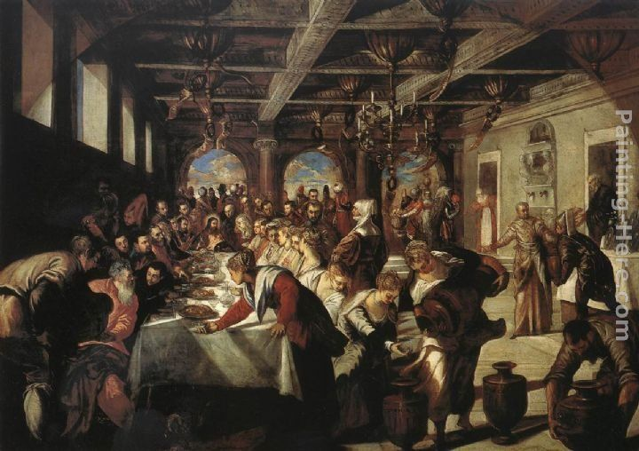 Jacopo Robusti Tintoretto Marriage at Cana