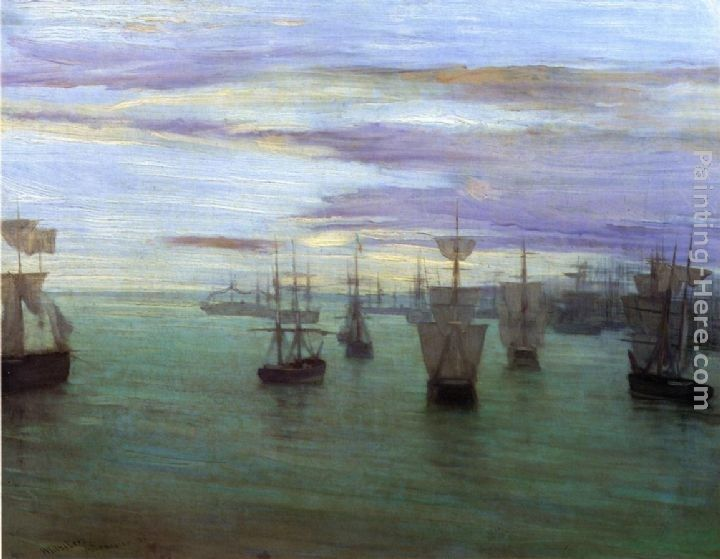 James Abbott McNeill Whistler Crepuscule in Flesh Colour and Green Valparaiso