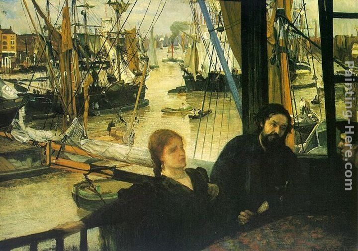 James Abbott McNeill Whistler Wapping on Thames