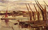 James Abbott McNeill Whistler Battersea Reach painting