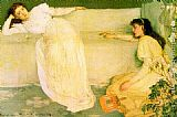 James Abbott McNeill Whistler Symphony in White no.3 painting