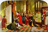 James Collinson The Renunciation of Queen Elizabeth of Hungary painting