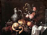 Jan Davidsz de Heem Still Life painting