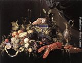 Jan Davidsz de Heem Still-Life with Fruit and Lobster painting
