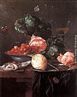 Jan Davidsz de Heem Still-life with Fruits painting