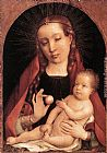 Jan Provost Virgin and Child painting