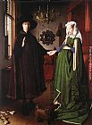 Jan van Eyck Portrait of Giovanni Arnolfini and his Wife painting