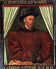 Jean Fouquet Charles VII, King Of France painting