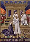 Jean Fouquet The Coronation of the Virgin painting