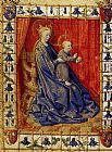 Jean Fouquet The Virgin And Child Enthroned painting