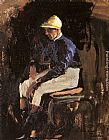 A Portrait of Joe Childs, the Rothschild's Jockey