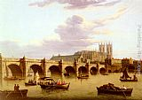 John Paul The Thames At Westminister painting