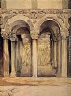 John Ruskin The Pulpit in the Church of S. Ambrogio painting