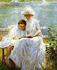 Joseph Rodefer de Camp June Sunlight painting