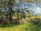 Joseph Rodefer de Camp Summer Landscape painting