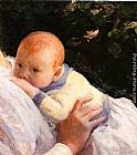 Joseph Rodefer de Camp Theodore Lambert DeCamp as an Infant painting