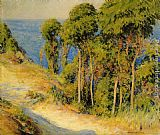 Joseph Rodefer de Camp Trees Along the Coast painting