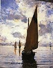 Joseph Rodefer de Camp Venice painting