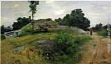 Julian Alden Weir Connecticut Scene painting