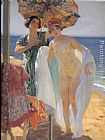 Laureano Barrau After The Swim painting