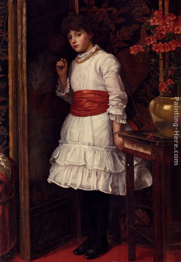 Maria Matilda Brooks The Red Sash