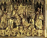 Michael Pacher Coronation of the Virgin painting