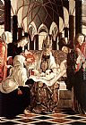 Michael Pacher St Wolfgang Altarpiece Circumcision painting