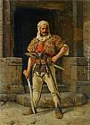 Paul Joanovitch A Serbian Warrior painting