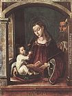 Pedro Berruguete Holy Family painting