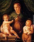 Pier Francesco Di Jacopo Foschi The Madonna and Child with the infant Saint John the Baptist painting