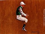 A Jockey Study For Hethersett Races