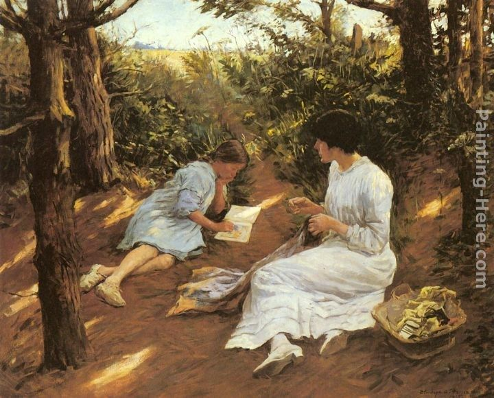 Stanhope Alexander Forbes Amongst the Pines