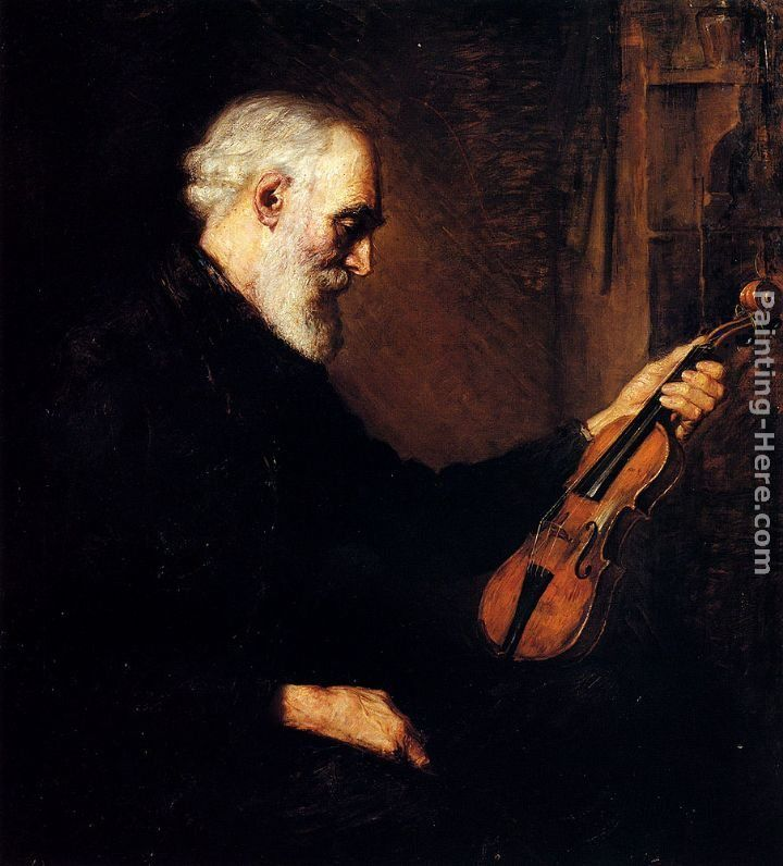 Stanhope Alexander Forbes The Violinist