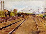 Stanhope Alexander Forbes The Sidings painting