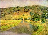 Theodore Clement Steele Gordon Hill painting